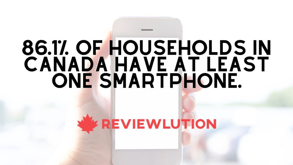 cell phone statistics canada