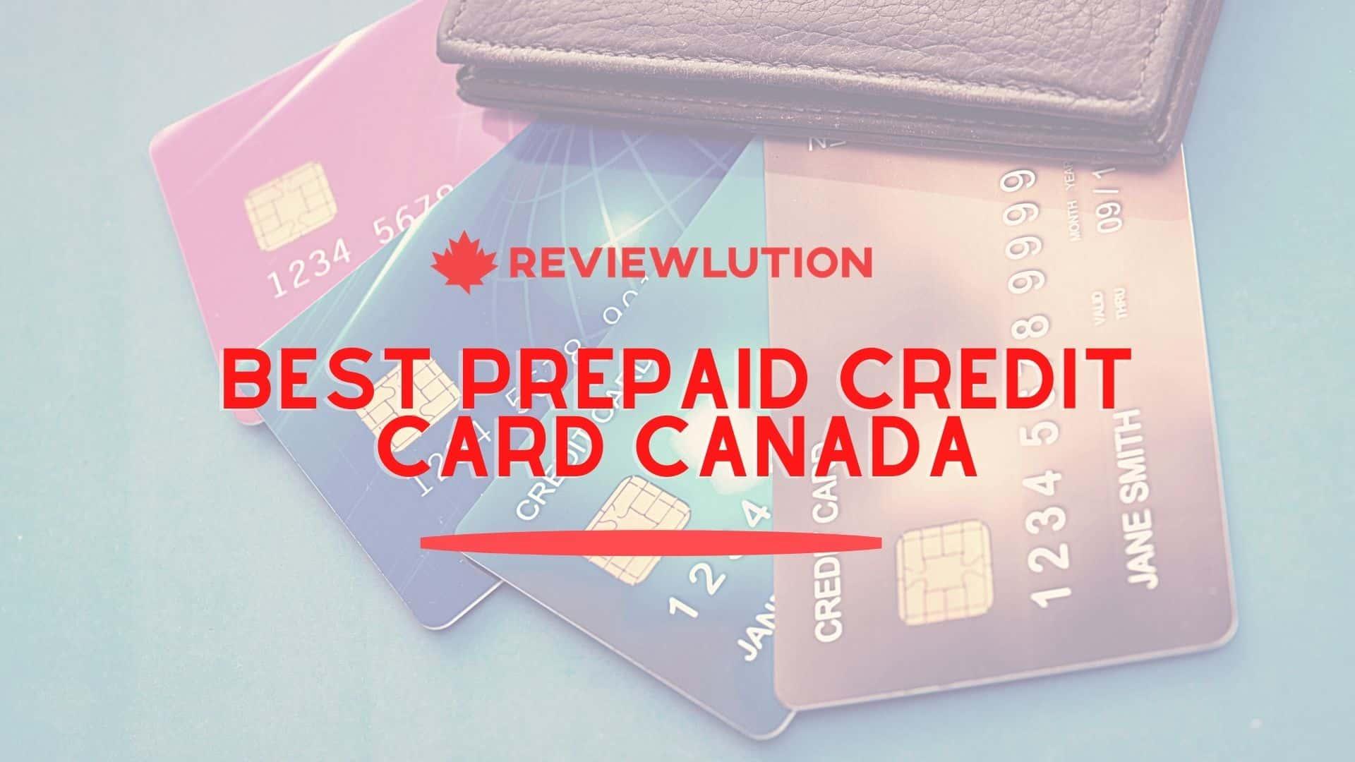 Best Prepaid Credit Cards in Canada